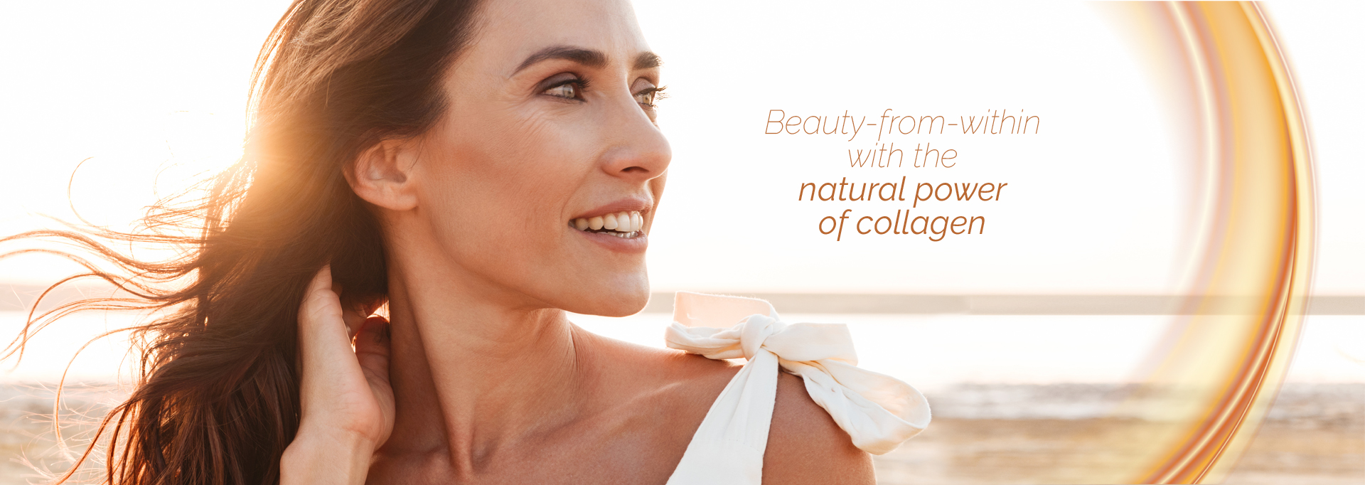 Skin aging with and without QYRA collagen